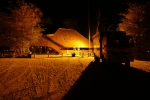 Botswana - Abendstimmung in der Nate Lodge