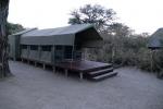 Botswana - Zelt in der Mogotlho-Lodge