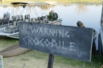 Botswana - Ernst zu nehmende Warnung