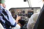 Botswana - Start zum Flug über das Okavangodelta
