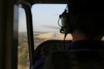 Botswana - Anflug auf Maun