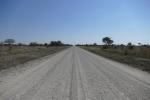 Namibia - Geradeaus nach Westen