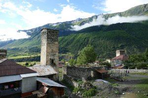Georgien: Mestia – Mulashi – Mit Blick zum Chalaadi-Gletscher