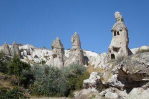 Kappadokien – Uçhisar, Tauben und Höhlen