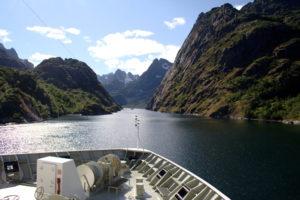 Tromsø – Svolvær: Mit der MS Polarlys in den Trollfjord