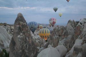 Kappadokien – Freier Tag, Ballonfahrt und bizarre Felssäulen