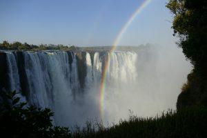Afrika 2017: Anreise und Besuch der Viktoriafälle