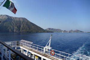 Liparische Inseln: Heimreise von Lipari über Sizilien
