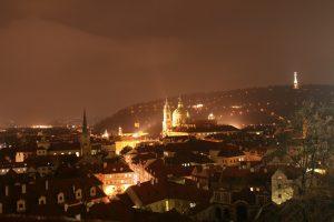 Prag – Teil 2: Prager Burg und Karlsbrücke bei Nacht